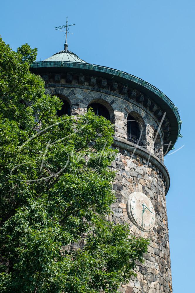 Rockford tower looking over Wilmington, Delaware