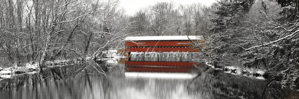 Gettysburg Sachs Covered Bridge | Art By Smiths - Landscape Photography