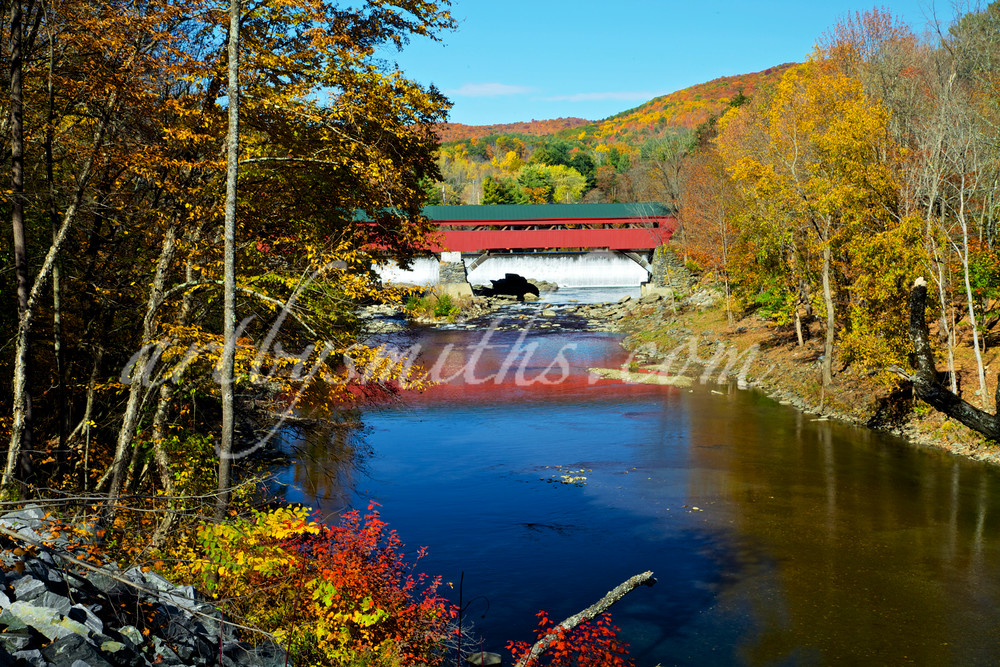 Taftsville Bridge | Art By Smiths - Landscape Photography