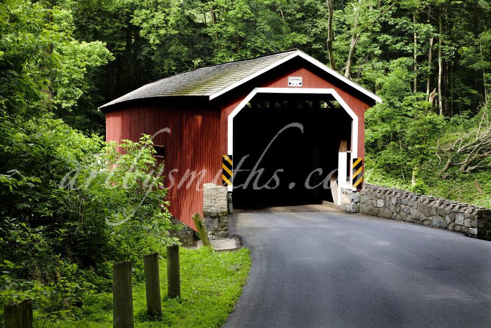 Lancaster Co. Covered Bridge In Summer Photography Art | artbysmiths