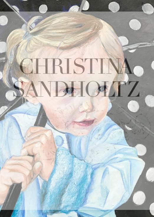 Waiting In The Rain Art   Christina Sandholtz Art
