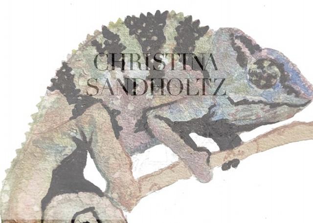 Chameleon Art   Christina Sandholtz Art