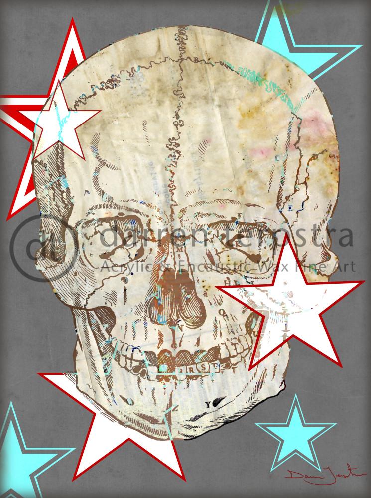 Skateboard Skull Art | Darren Terpstra Artist