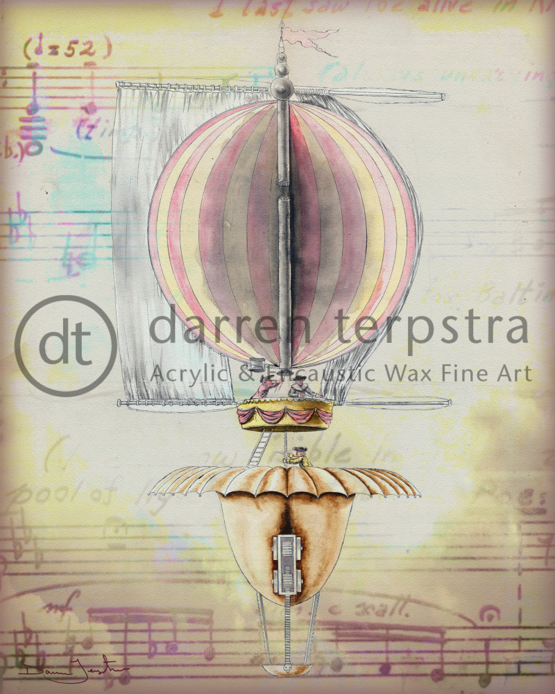 Up Up And Away Art | Darren Terpstra Artist