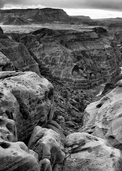 Toroweap Black and White Grand Canyon Art Prints