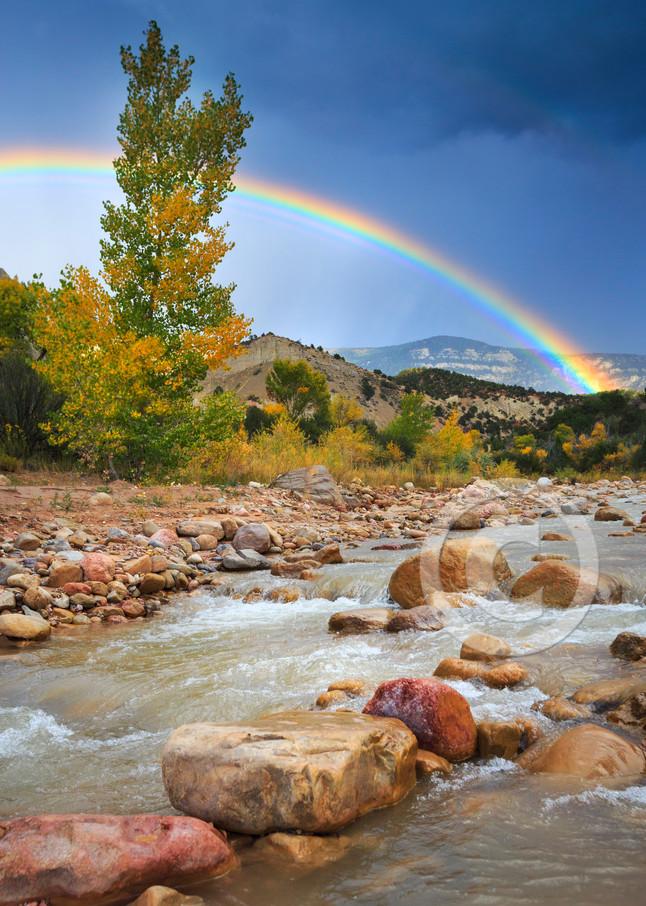 Coal Creek Rainbow Art Prints