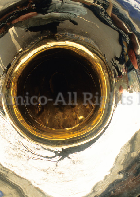 Musician And Tuba. New York, NY.