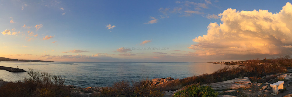 Rockport, Headlands, Sunset, Panorama,