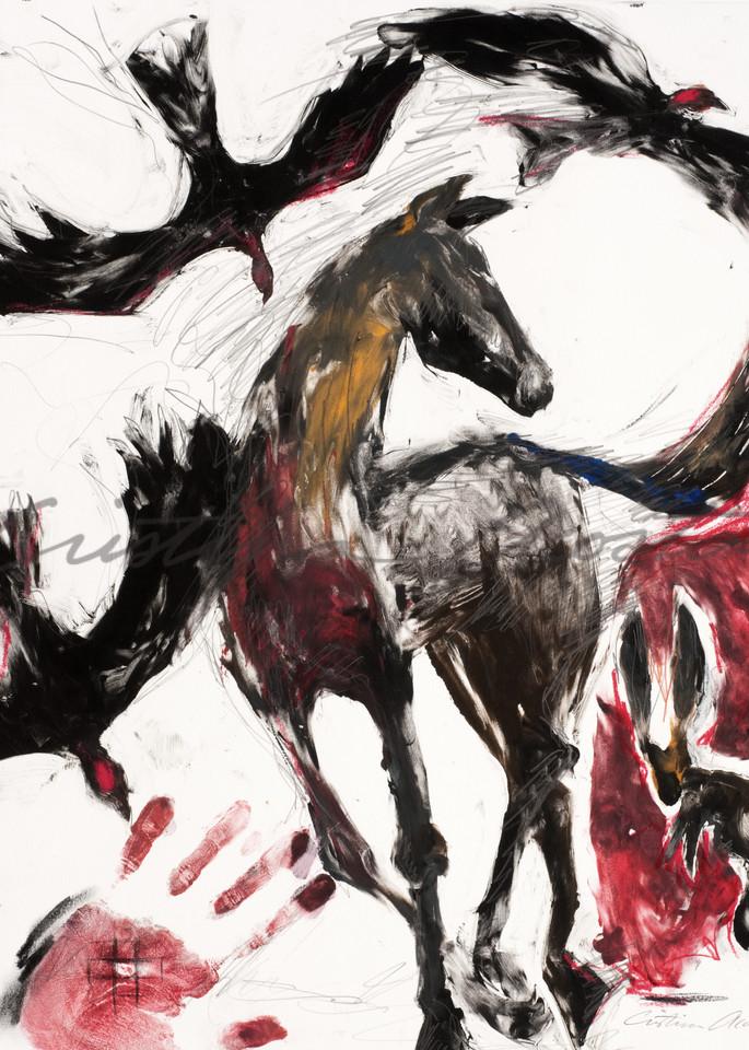 Life Cycle Horse Art