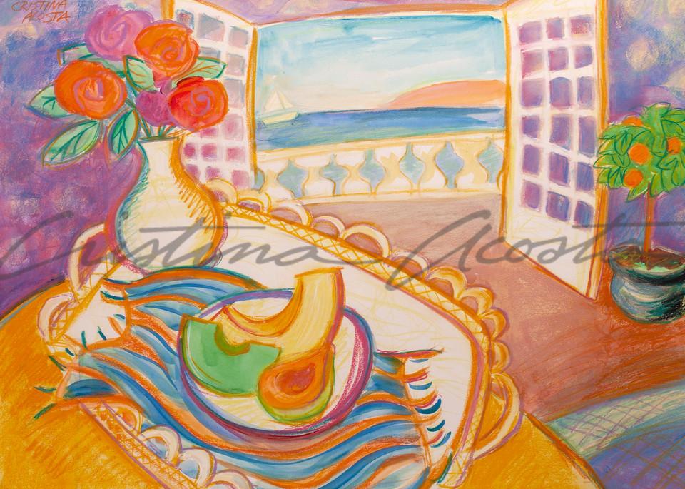 Beautiful Day, Joyful colors of Paint Happy art