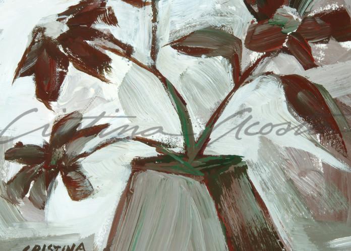 flower vase neutral taupe