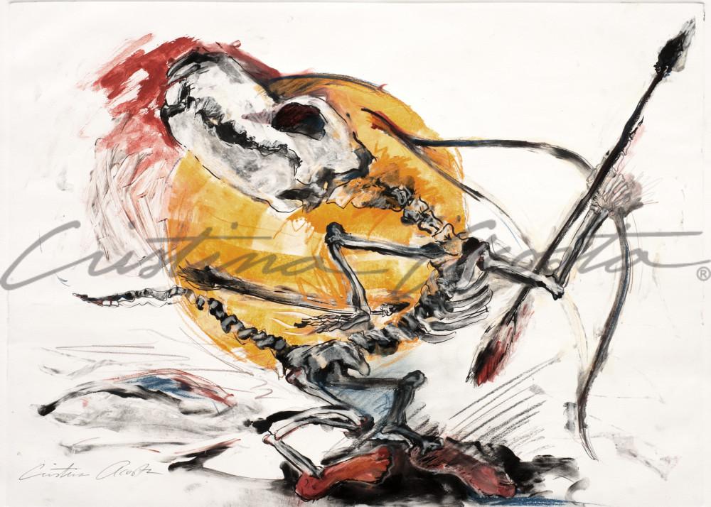 Coyote Dancer 2 Native American Indian Dancer art print