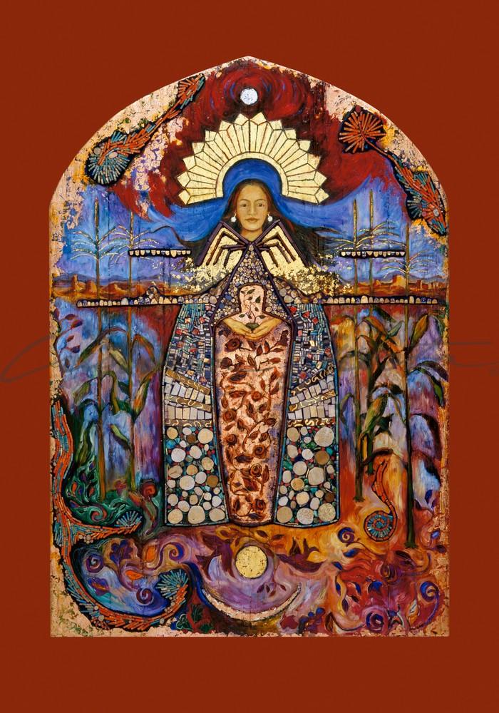 La Conquistadora Puebloan Corn Maiden Dine Spider Woman