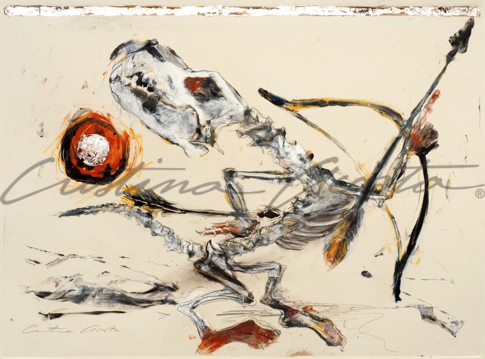 Coyote Dancer I, Native American dancer art
