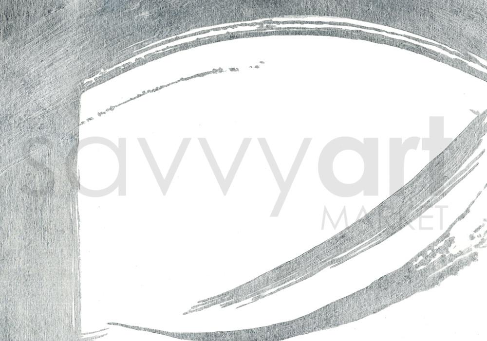 Silver Wave II by Karen Mayer | SavvyArt Market art print