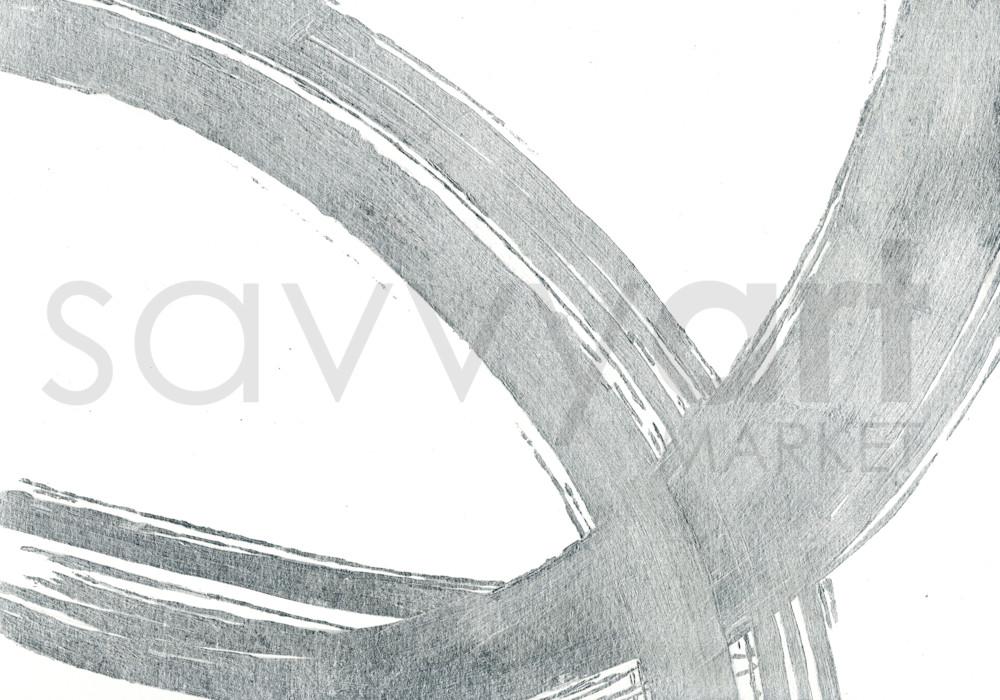 Silver Wave III by Karen Mayer | SavvyArt Market art print