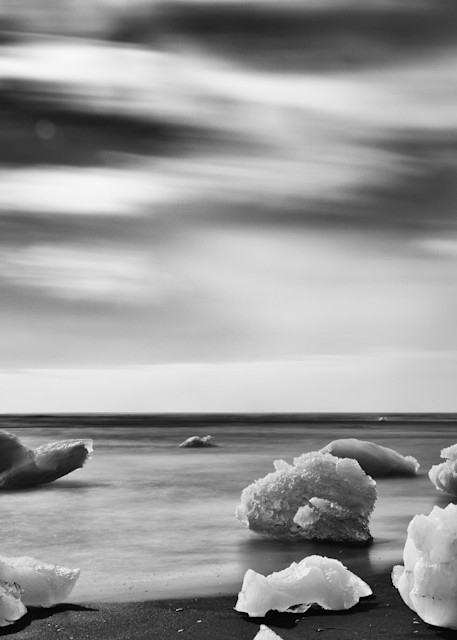 Ice on Beach