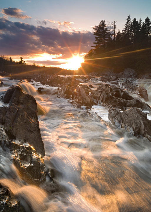 Breaking Through Jay Cooke State Park
