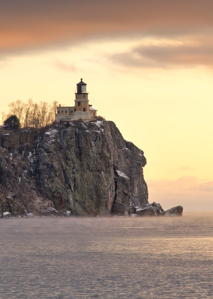 Winter Sentinel Split Rock Lighthouse