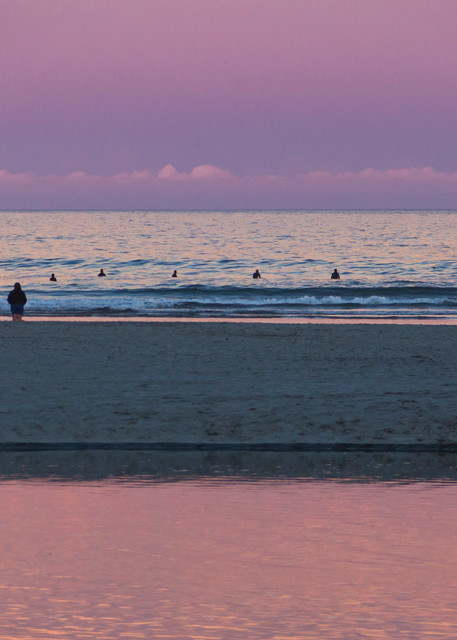 Spectators And Seal People At Dusk Art | capeanngiclee