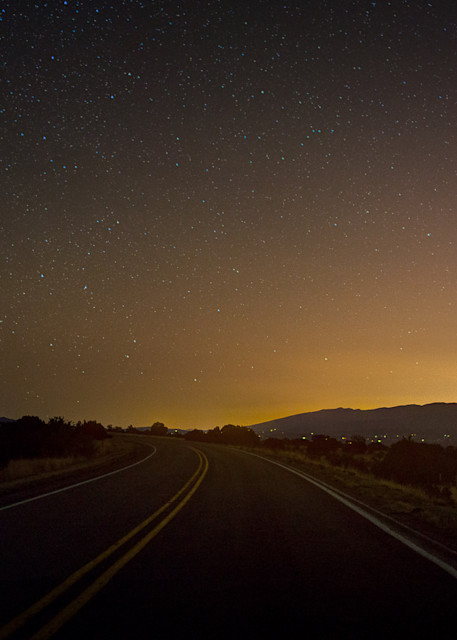 New Mexico, Photography, nocturne, Southwest, landscape,Turquoise Trail