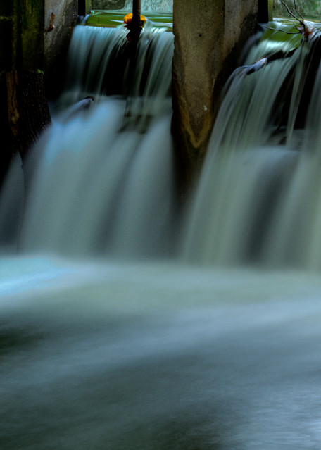 Fine Art Photograph of Waters of Great Falls Near Angler's Inn by Michael Pucciarelli