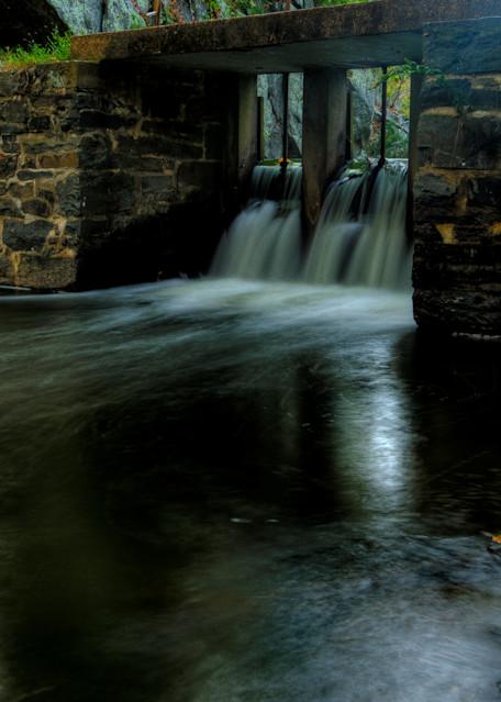 Fine Art Photographs of a Great Falls Waterfall Near Angler's Inn by Michael Pucciarelli