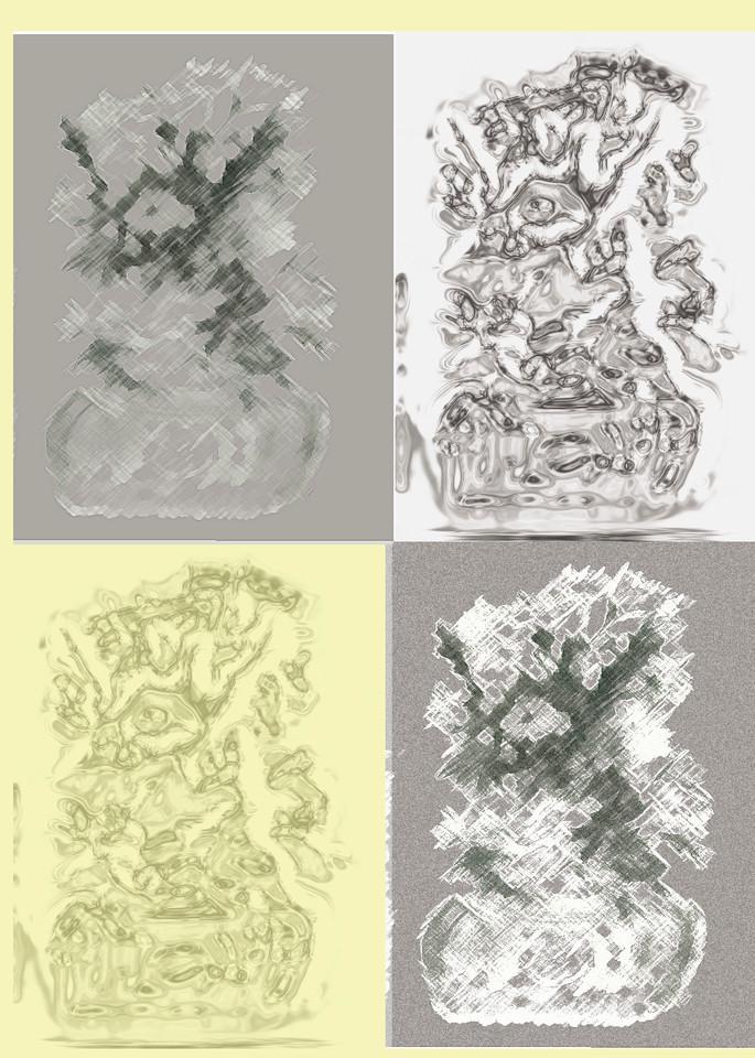 Flowers-futuristic 6-2014 mari