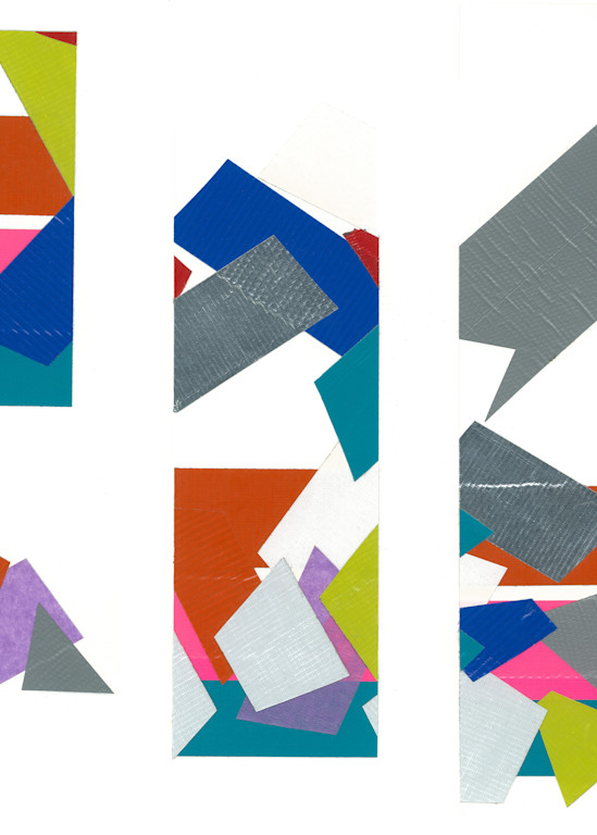 Collage Color Cutouts  Art | capeanngiclee