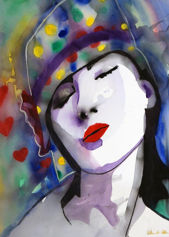 Valentine's Kisses Art   William K. Stidham - heART Art