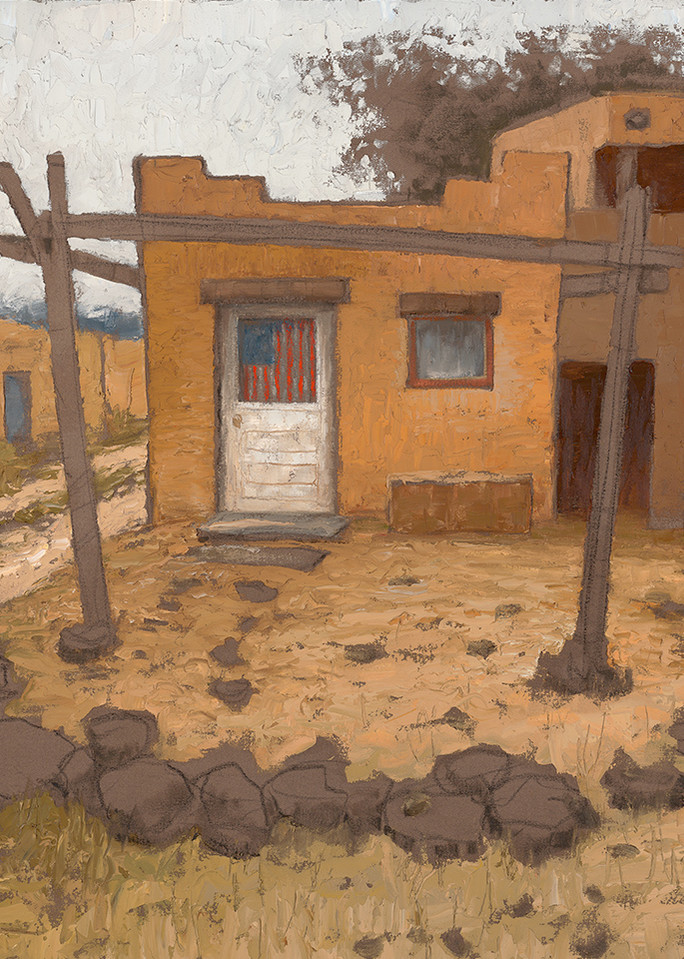 Taos Pueblo Art   Fine Art New Mexico