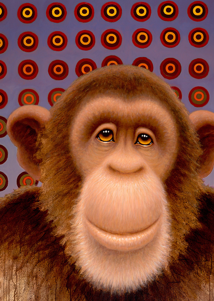 Psychedelic Chimp No. 4 Art | Fine Art New Mexico