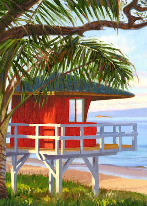 Lifeguard Tower on Kamaole Beach