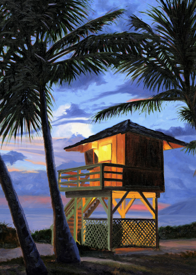 Kamaole Beach Lifeguard Tower