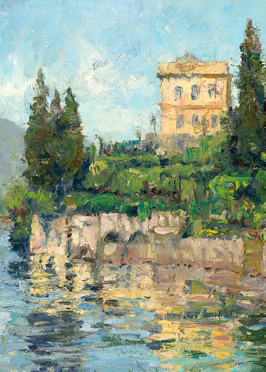 Villa Monasterio On Como, Joe Anna Arnett