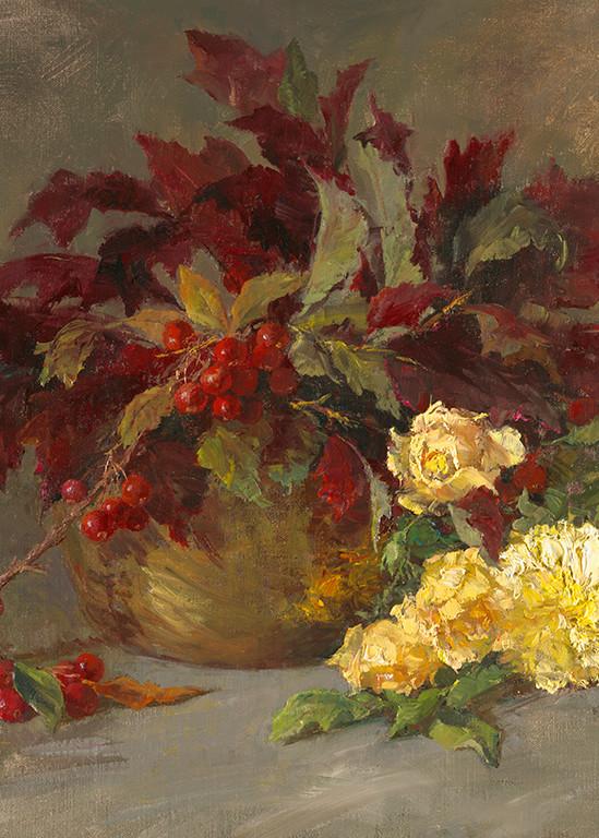 Last Roses of Fall, Joe Anna Arnett