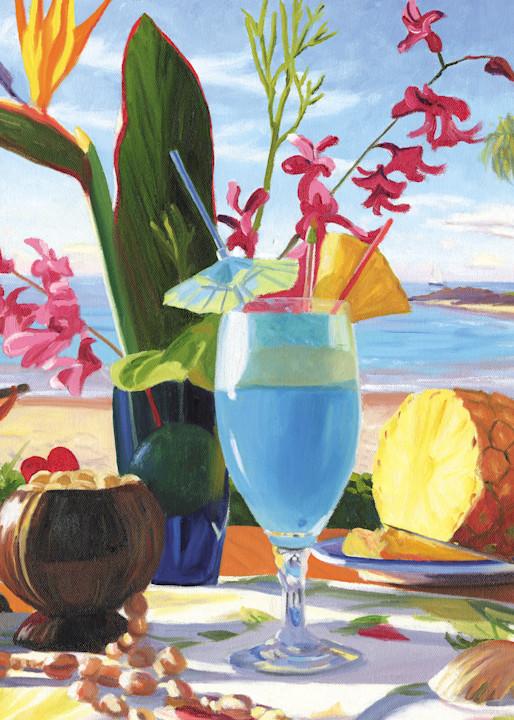 Blue Hawaiian Drink