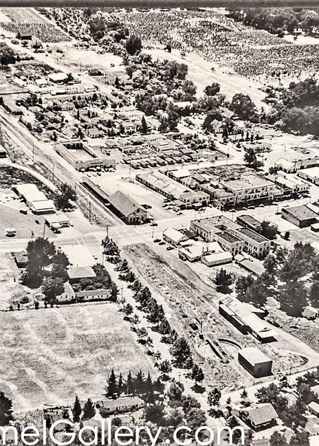 Calistoga Aerial View 1950's