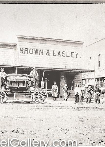 Lincoln Ave Calistoga 1880's