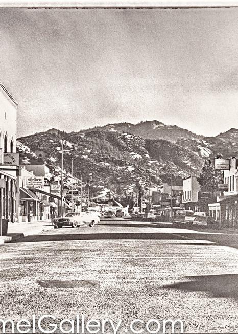 Lincoln Ave Calistoga 1970's