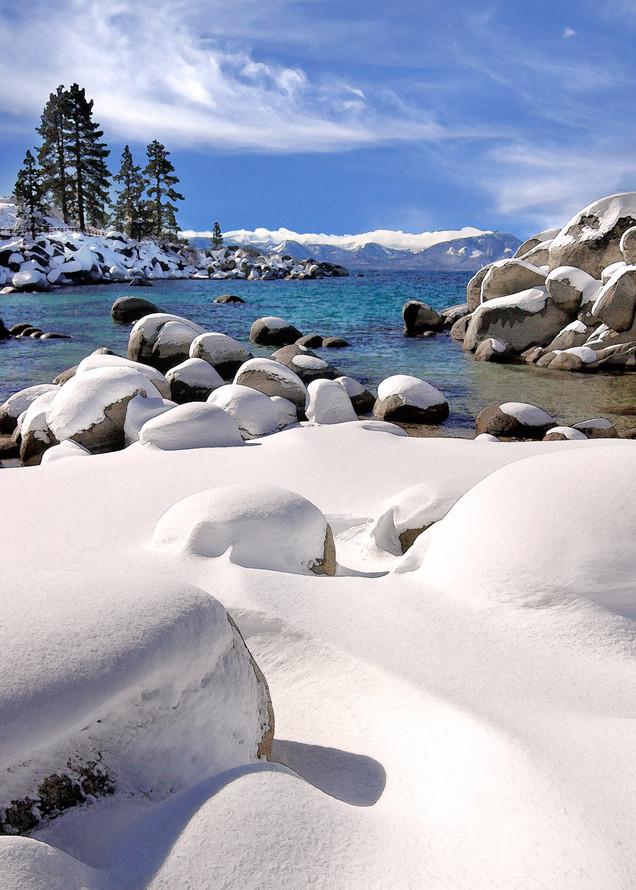 Sand Harbor Snow