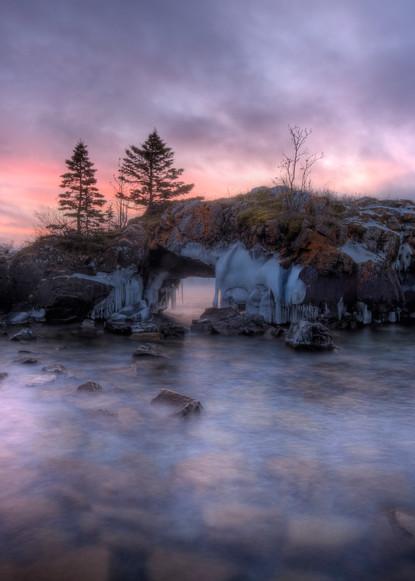 Hollow Rock captured near Grand Portage, MN
