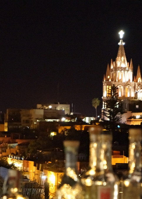 San Miguel Skyline Art   William K. Stidham - heART Art