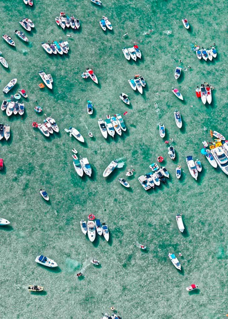 Party Boats Ii Photography Art | DE LA Gallery