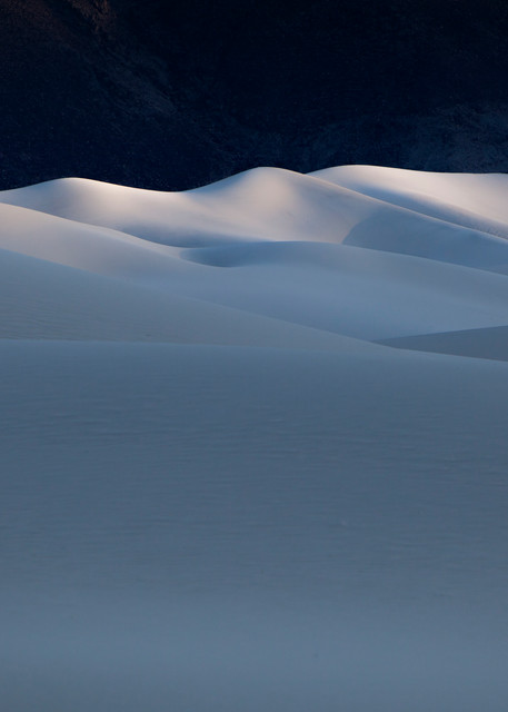 Last Light at Eureka Dunes