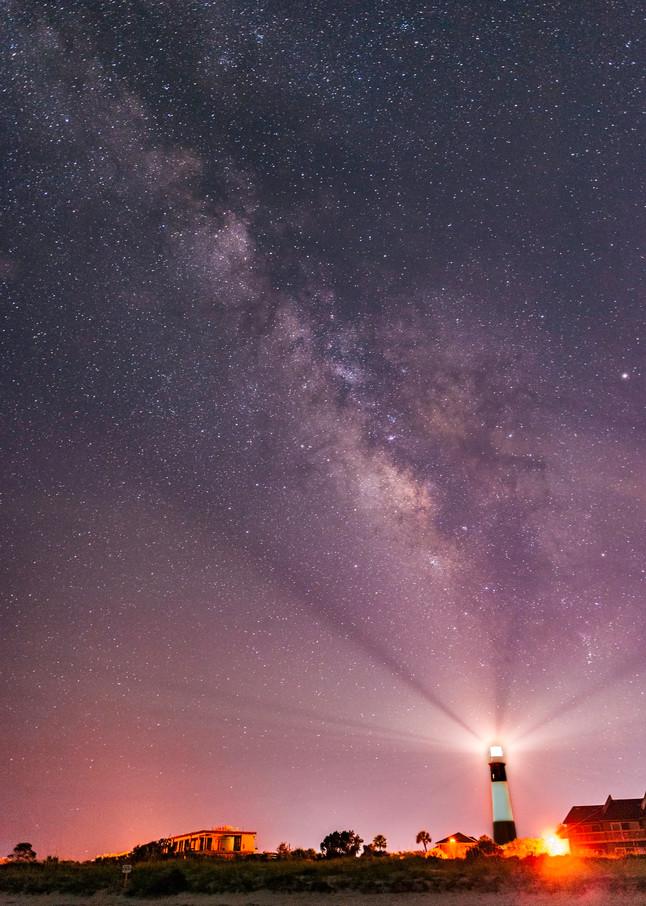 Tybee Light at Night