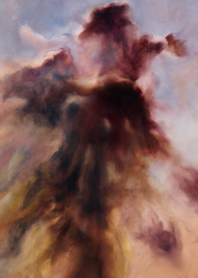 Veil fine art oil painting