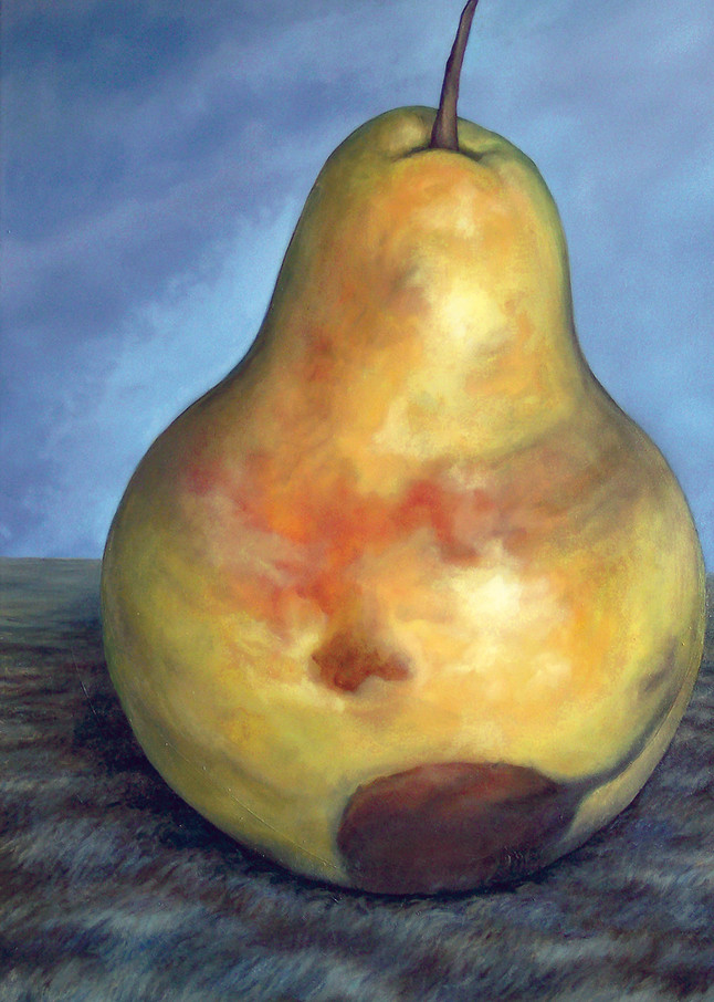 A Perfect Pear   Custom Size Print Art   Bottinelli Fine Art