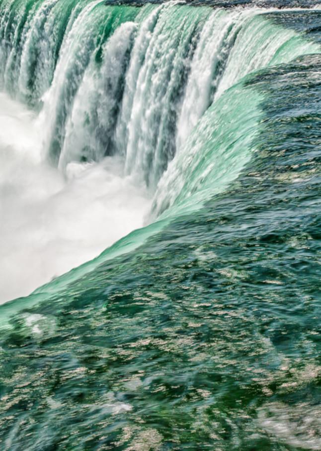 Rushing Waater of Niagara Falls  fine art photograph
