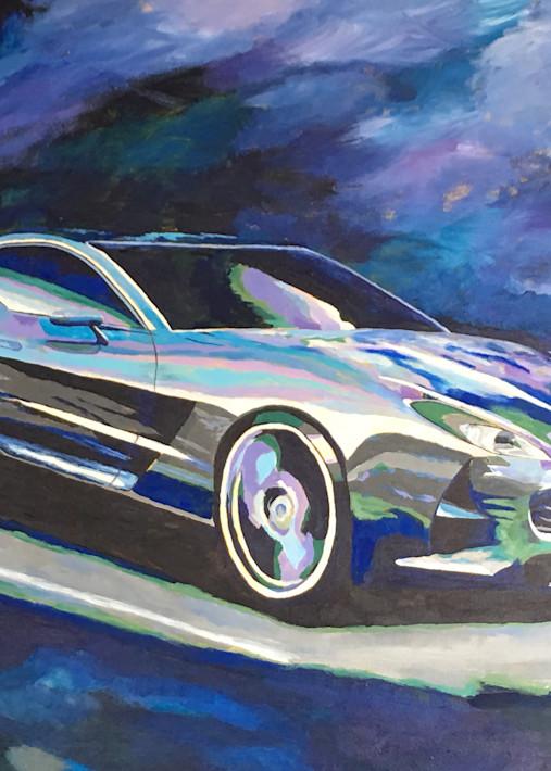 Aston Martin One77 Blue